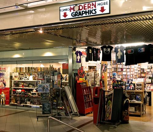 Laden/store Europa-Center