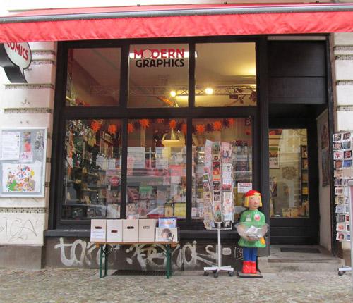 Laden/store Kastanienallee