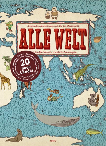 Alle Welt - Das Landkartenbuch