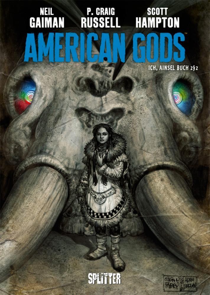 American Gods Ich, Ainsel Buch 2