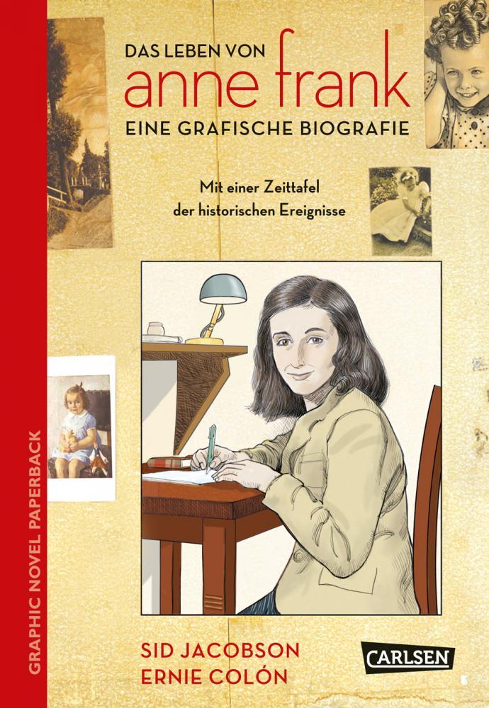 Anne Frank - Eine grafische Biografie Softcover