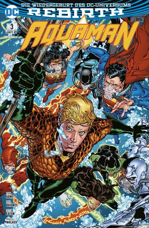 Aquaman (Rebirth) 3: Die Flut