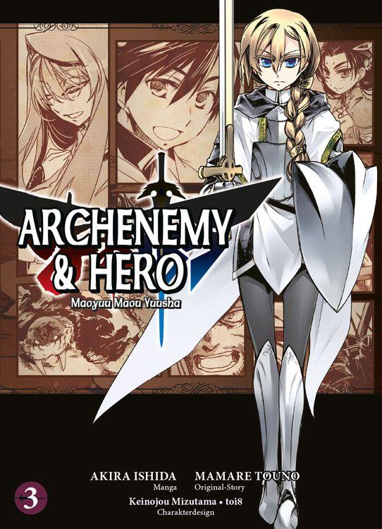 Archenemy & Hero - Maoyuu Maou Yuusha Band 3