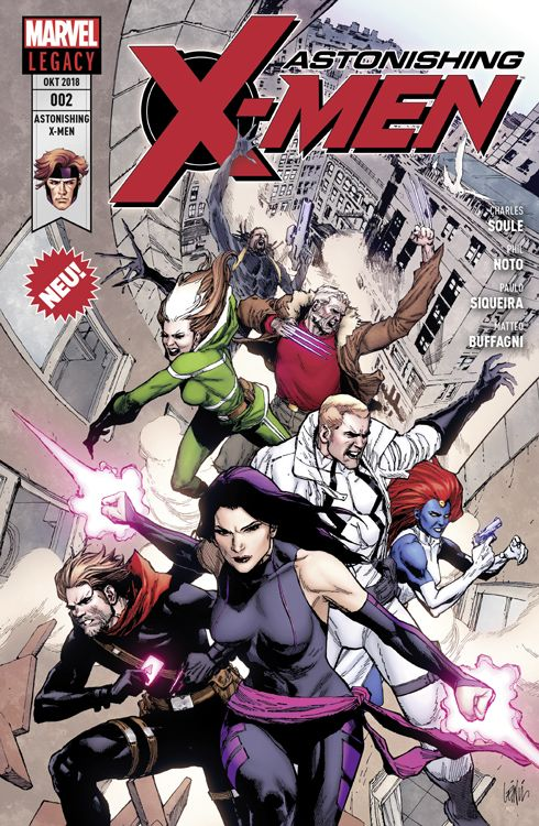 Astonishing X-Men 2: Ein Mann namens X