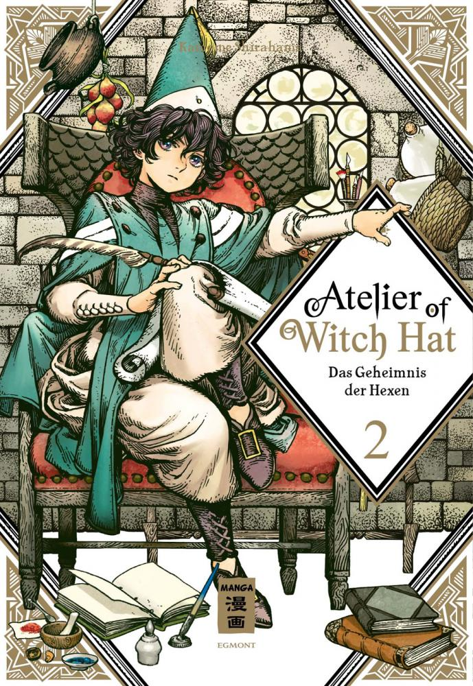 Atelier of Witch Hat – Das Geheimnis der Hexen Band 2 (Limited Edition)