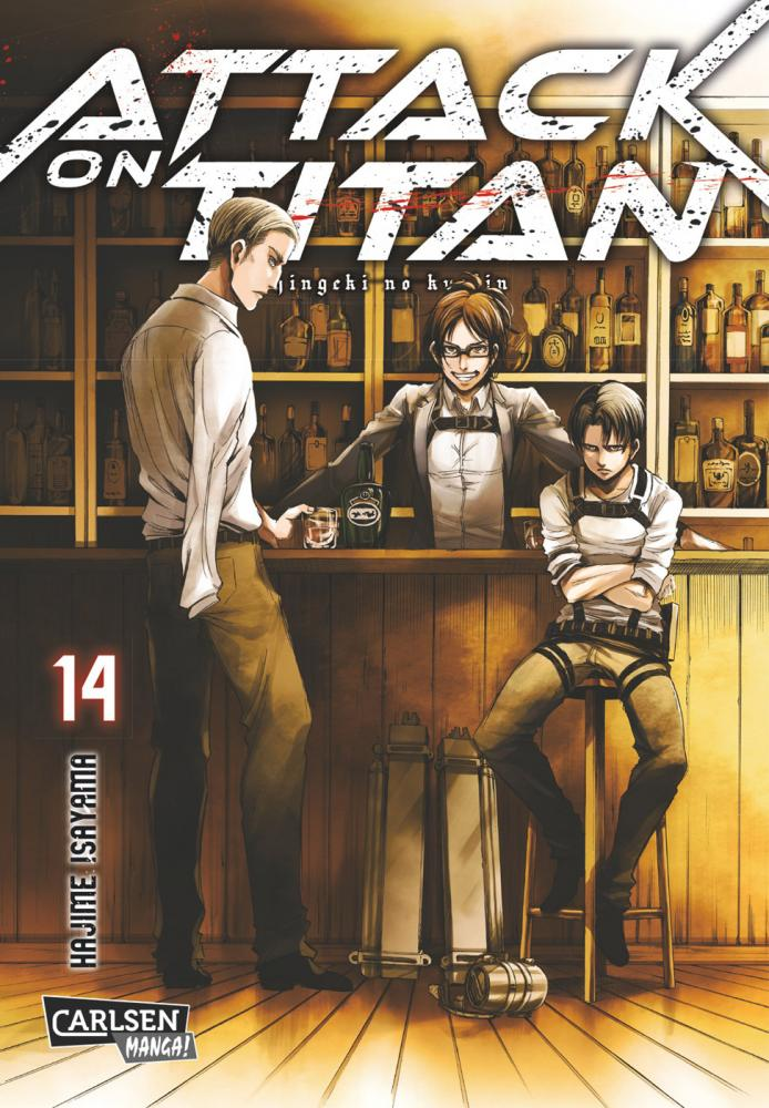 Attack on Titan Band 14