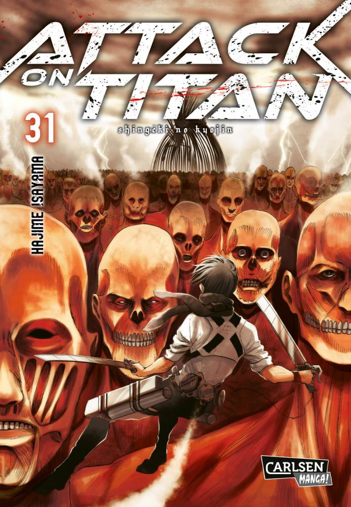 Attack on Titan Band 31