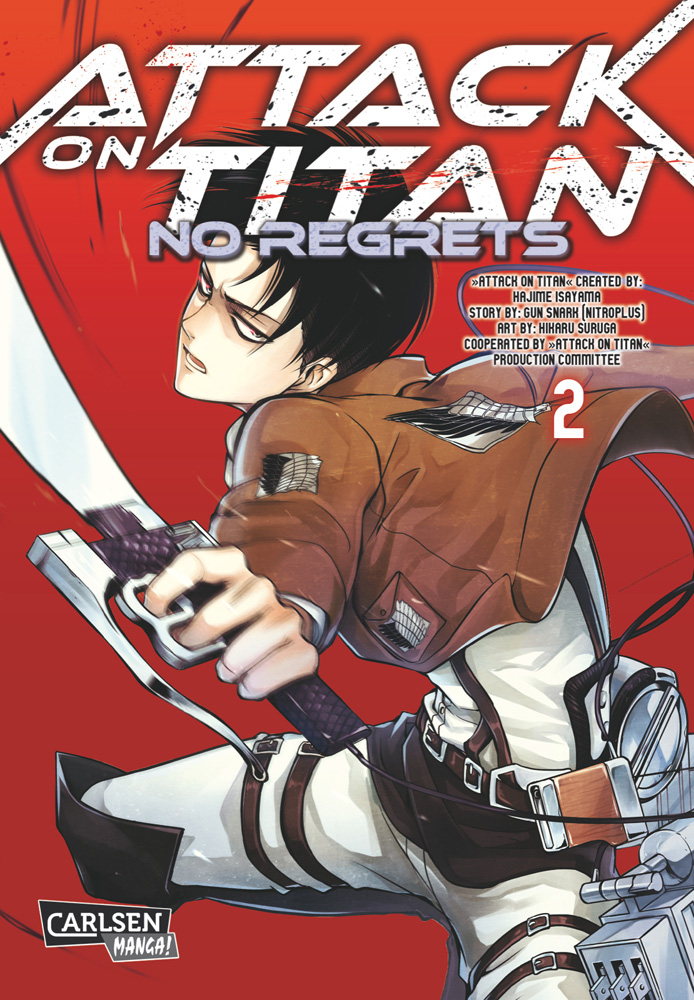 Attack on Titan - No Regrets Band 2
