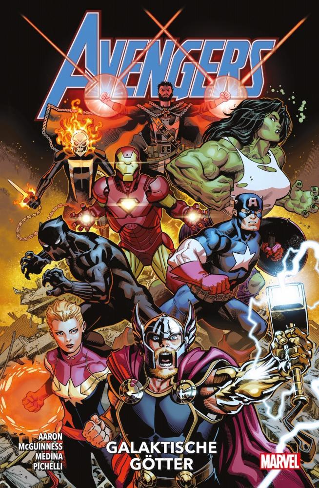Avengers Paperback (2020) 1: Galaktische Götter