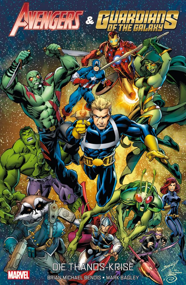 Avengers & die Guardians of the Galaxy: Die Thanos-Krise Softcover