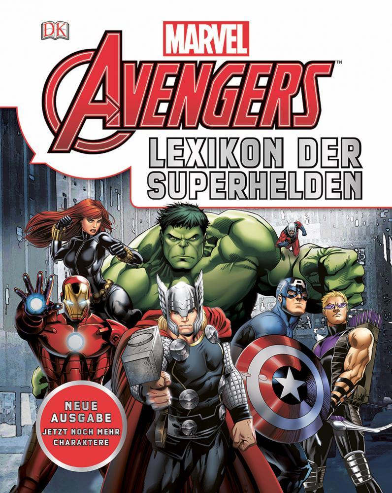 Marvel Avengers - Lexikon der Superhelden