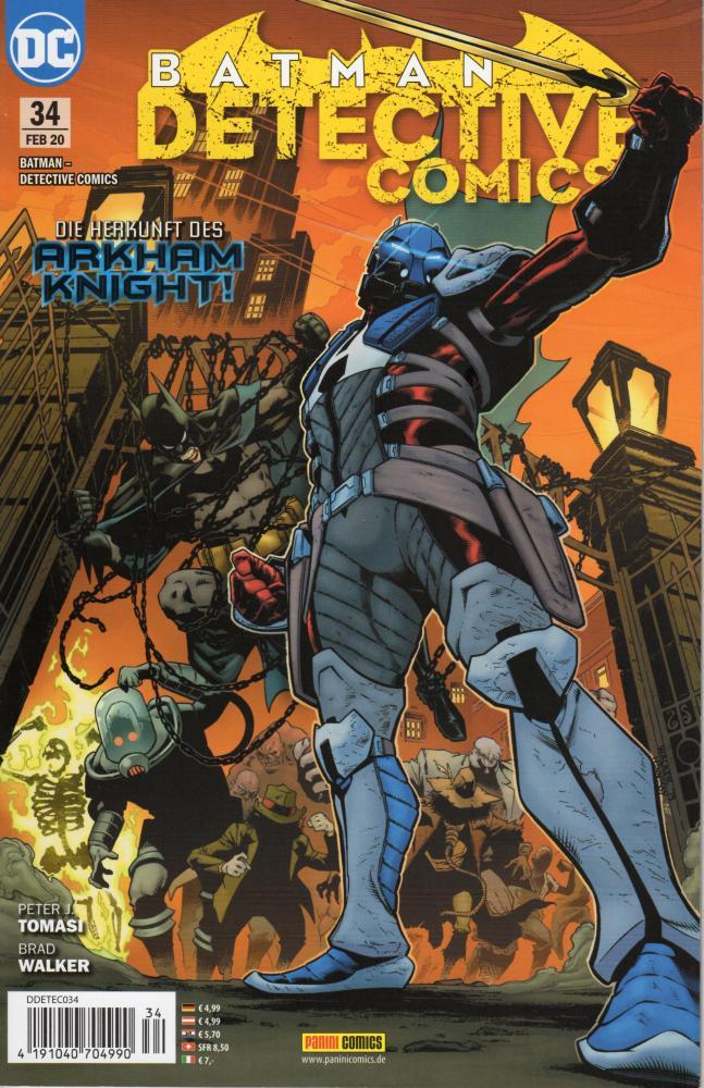 Batman - Detective Comics (Rebirth) 34