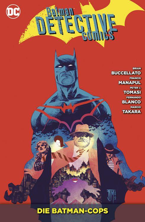 Batman - Detective Comics Paperback 8: Die Batman-Cops (Softcover)