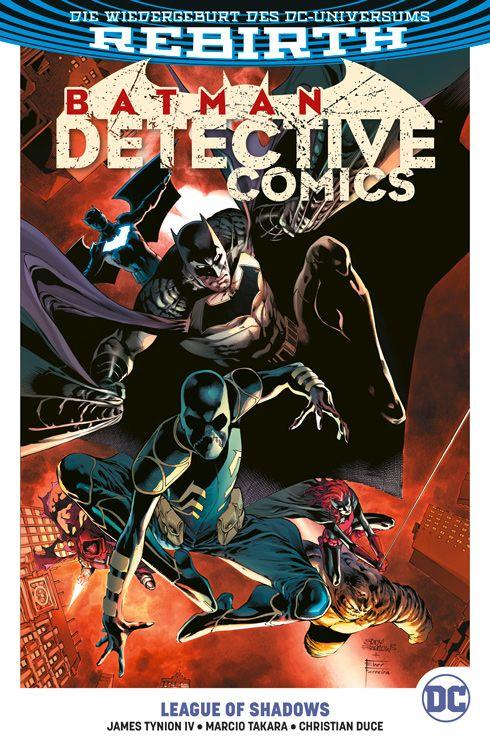 Batman - Detective Comics (Rebirth) Paperback 3: League of Shadows