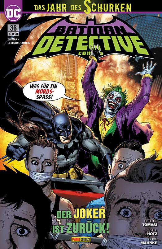 Batman - Detective Comics (Rebirth) 36
