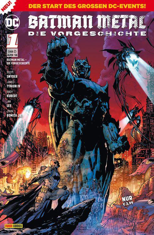 Batman Metal Die Vorgeschichte 1