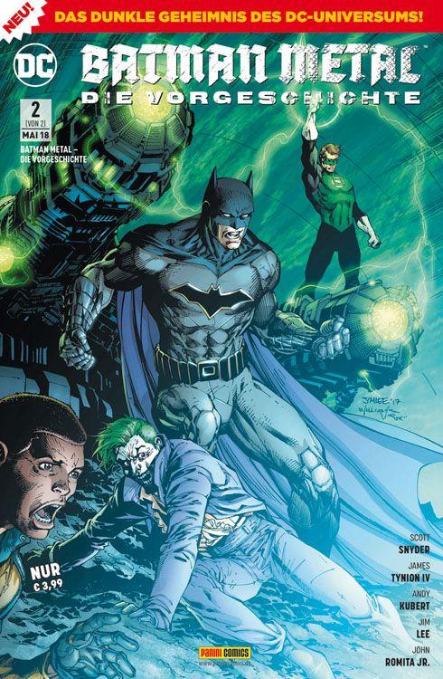 Batman Metal Die Vorgeschichte 2