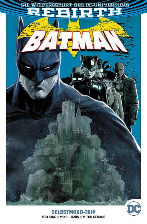 Batman (Rebirth) Paperback 2: Selbstmord-Trip