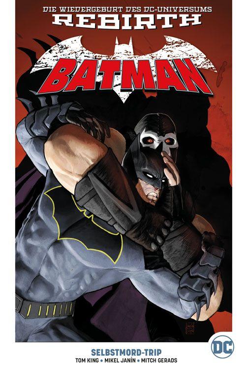 Batman (Rebirth) Paperback 2: Selbstmord-Trip (Hardcover, mit Blechschild)