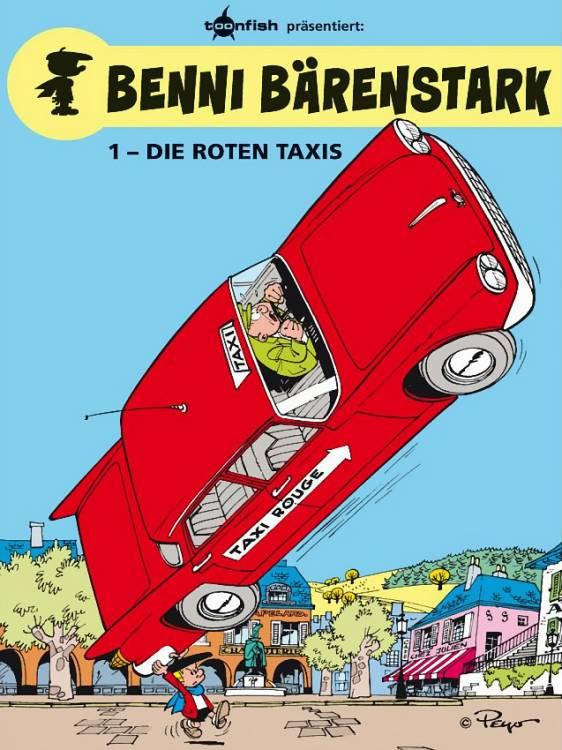 Benni Bärenstark 1: Die roten Taxis