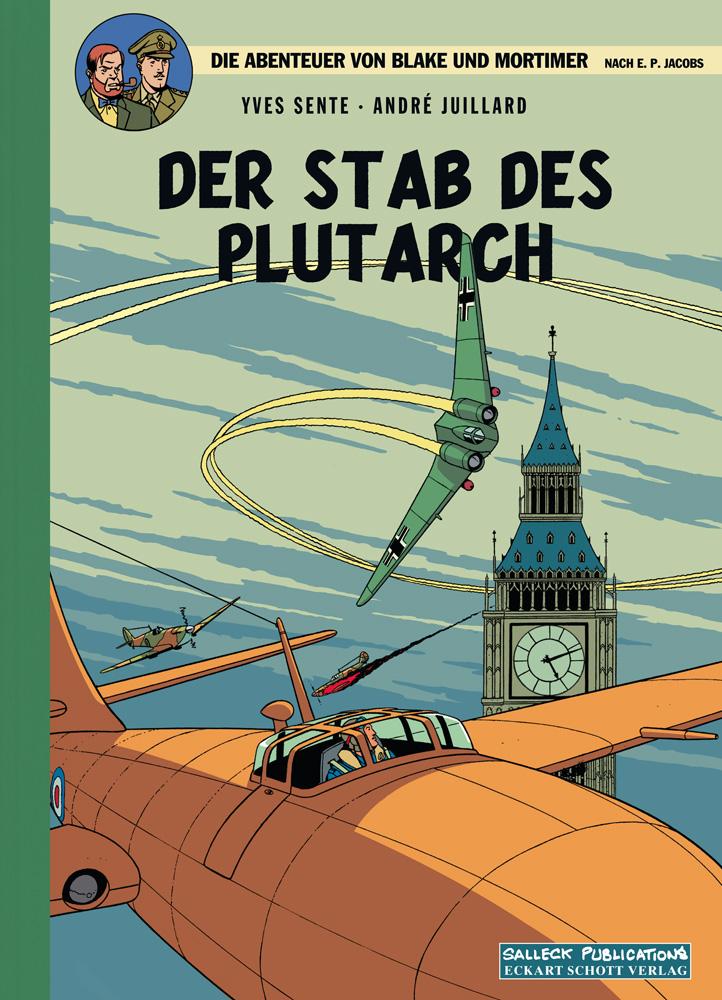 Abenteuer von Blake und Mortimer 20: Der Stab des Plutarch (Vorzugsausgabe)