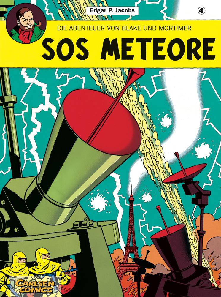 Abenteuer von Blake und Mortimer 4: SOS Meteore