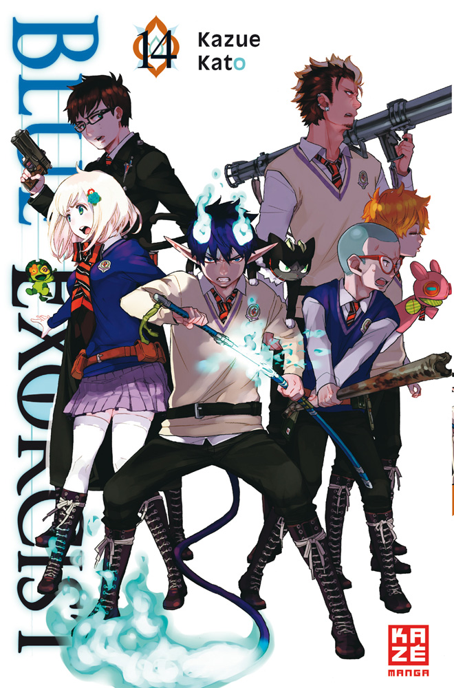 Blue Exorcist Band 14