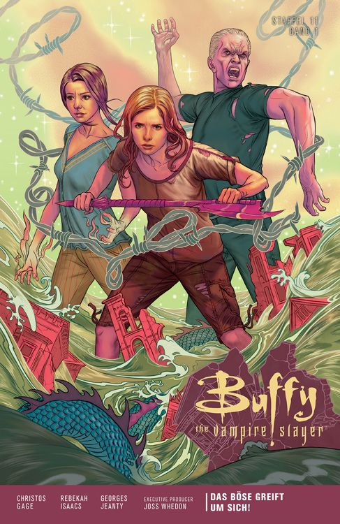 Buffy the Vampire Slayer (Staffel 11) 1: Das Böse greift um sich!