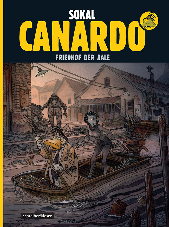 Canardo 23: Friedhof der Aale