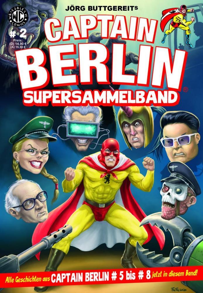 Captain Berlin Supersammelband 2