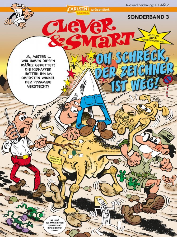 Clever & Smart Sonderband 3: Oh Schreck, der Zeichner ist weg!