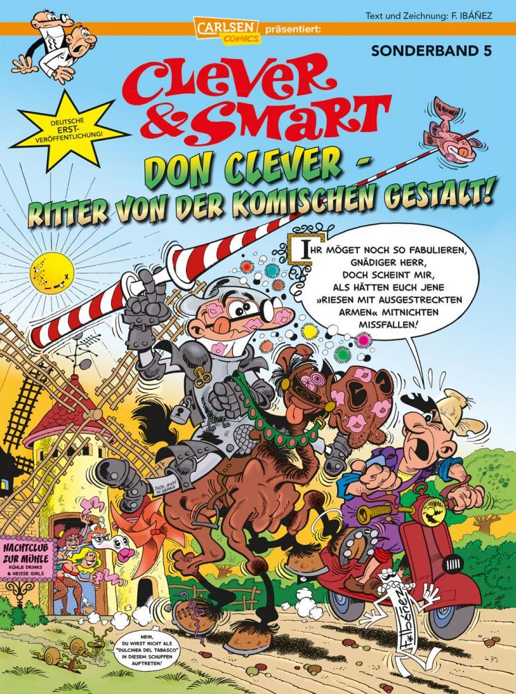 Clever & Smart Sonderband 5: Don Clever – Ritter von der komischen Gestalt!