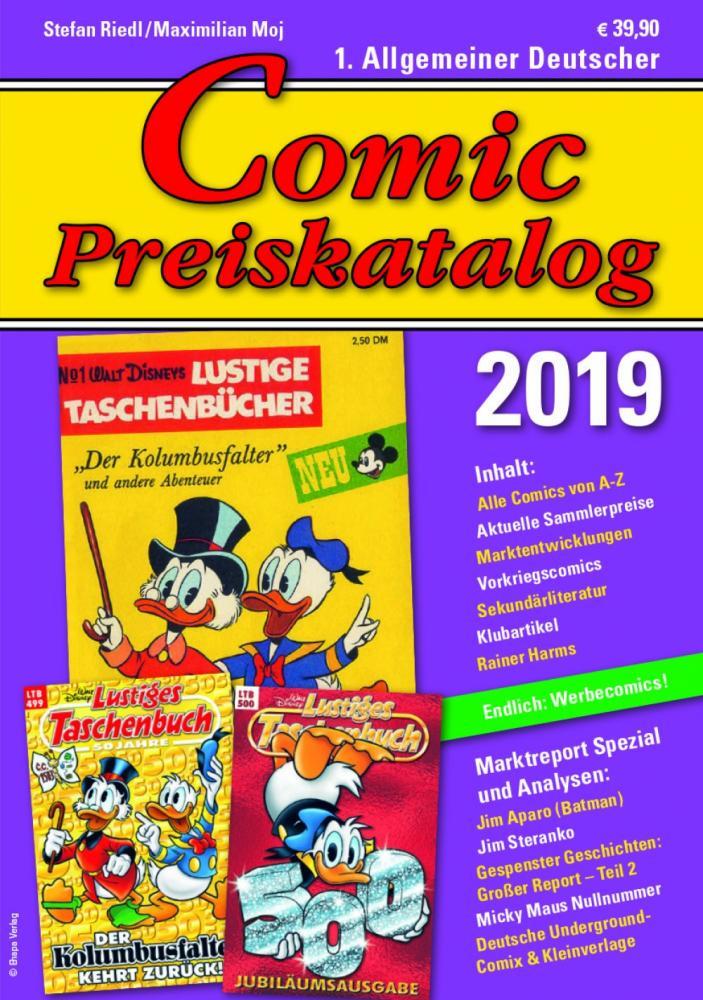 Comic Preiskatalog 2019 Hardcover