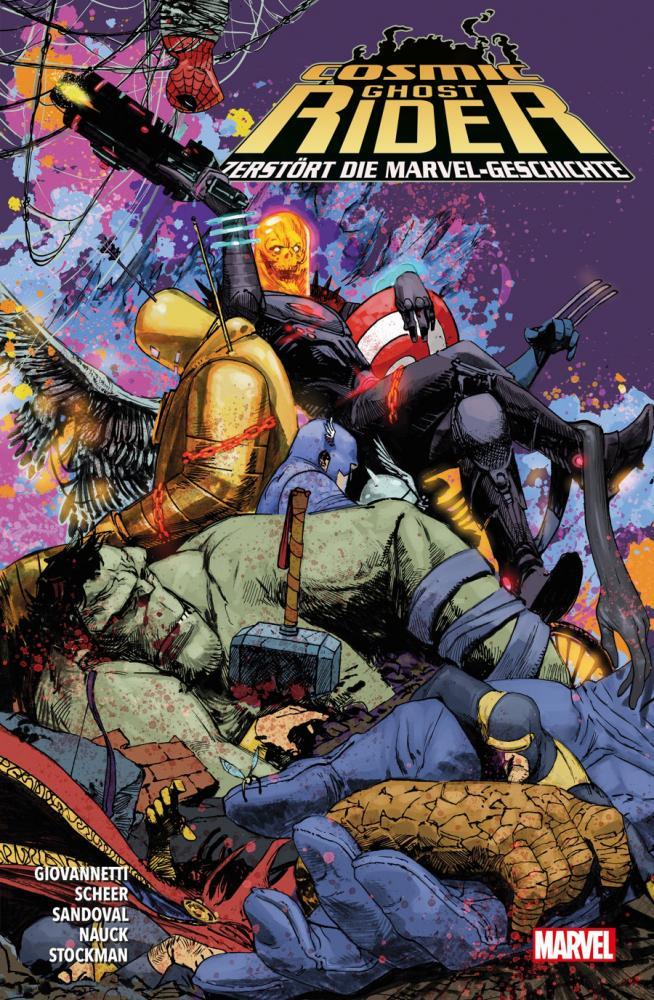 Cosmic Ghost Rider zerstört die Marvel-Geschichte