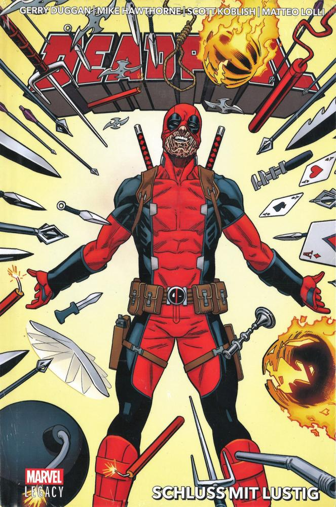 Deadpool (Marvel Legacy) 3: Schluss mit Lustig (Hardcover)