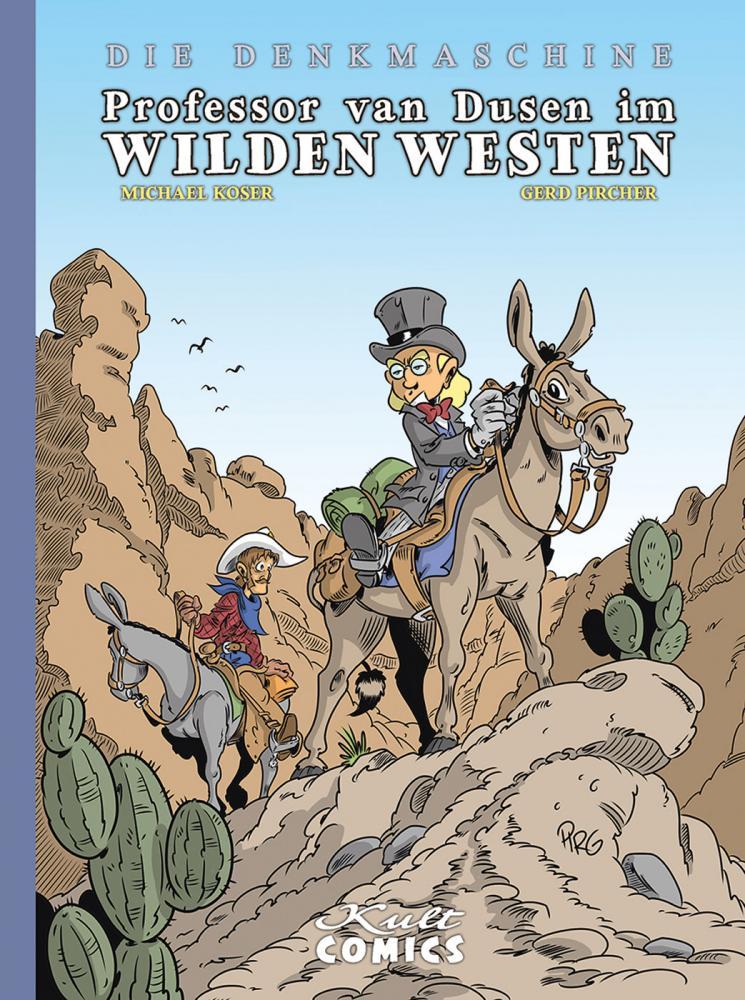Denkmaschine 8: Professor van Dusen im wilden Westen