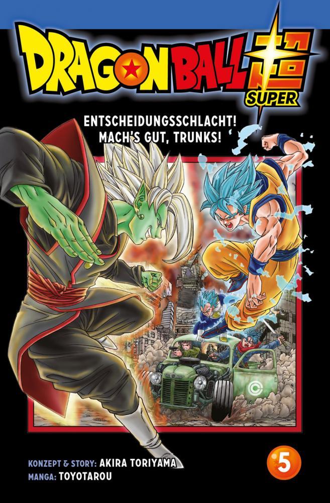Dragon Ball Super 5: Entscheidungsschlacht! Mach's gut, Trunks!