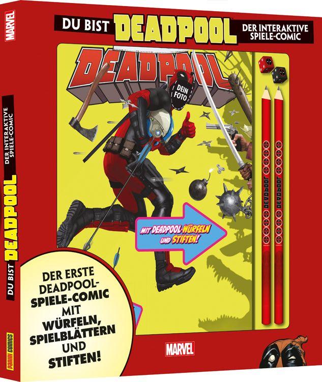 Du bist Deadpool - Der interaktive Spiele-Comic