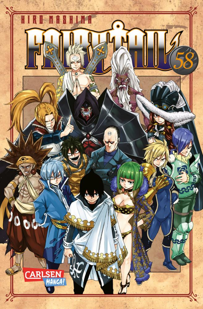 Fairy Tail Band 58