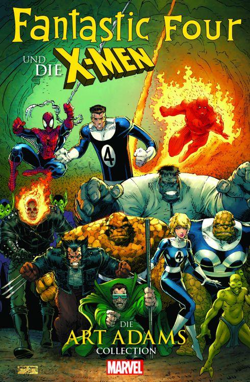 Fantastic Four und die X-Men: Die Art Adams Collection