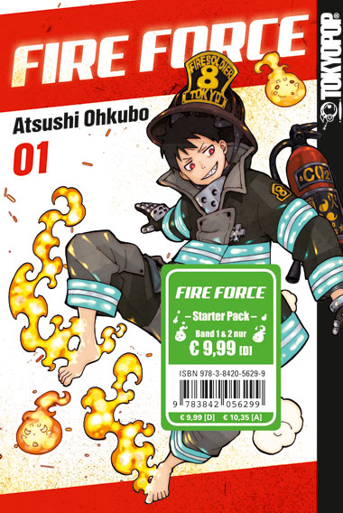 Fire Force Starter Pack (Band 1 und 2)
