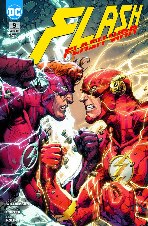 Flash (Rebirth) 9: Flash War