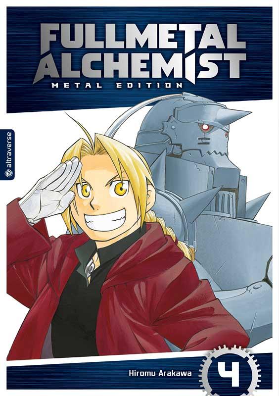 Fullmetal Alchemist (Metal Edition) Band 4