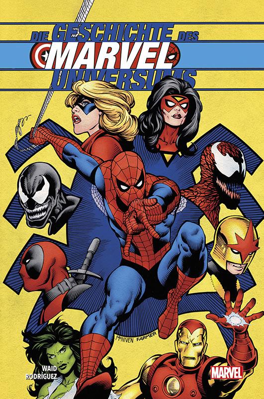 Geschichte des Marvel-Universums Hardcover
