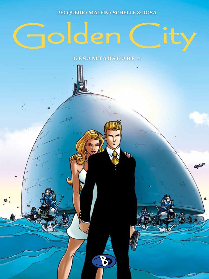 Golden City Gesamtausgabe 1
