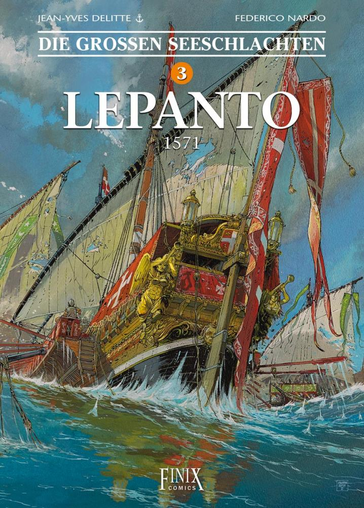 Großen Seeschlachten 3: Lepanto - 1571