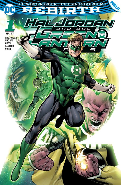Hal Jordan und das Green Lantern Corps 1: Sinestros Gesetz