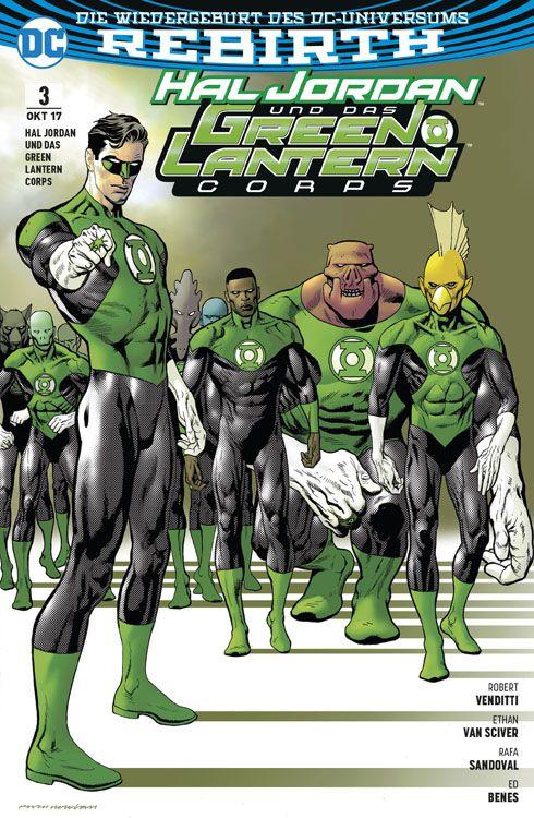 Hal Jordan und das Green Lantern Corps 3: Verbündete
