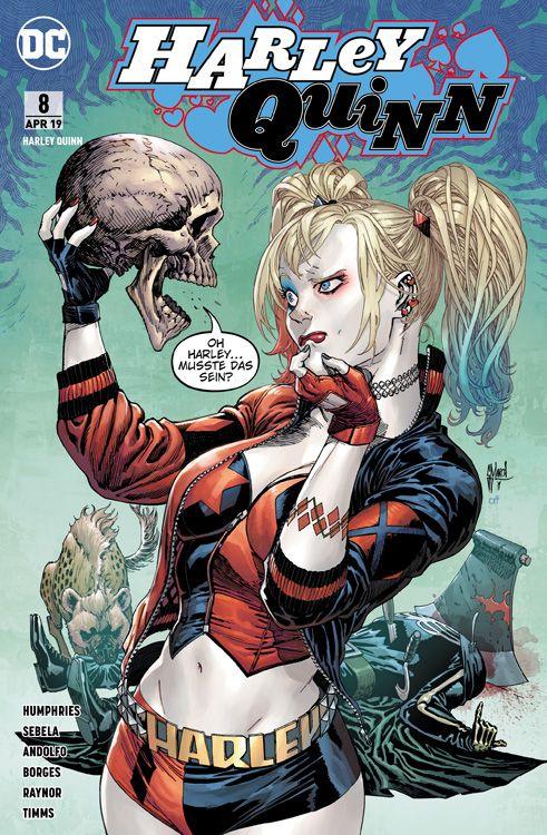 Harley Quinn (Rebirth) 8: Die Furie von Apokalips
