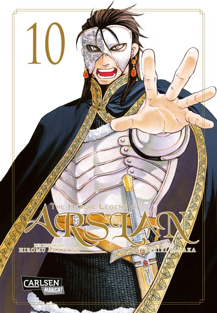 Heroic Legend of Arslan Band 10